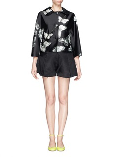 CHICTOPIA Butterfly print crop jacket