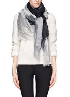STELLA MCCARTNEYHampstead landscape print modal-silk scarf