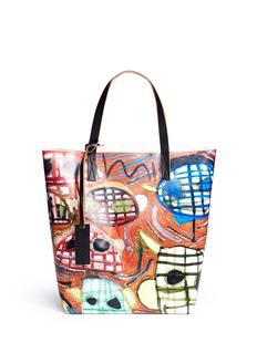 MARNIx Christophe Joubert face painting print tote