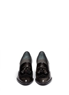 STUART WEITZMAN 'Girl Thing' wingtip tassel loafers