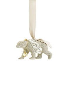 72539 - ER.VG Eliot Raffit.Vintage GlamourPolar Bear Christmas ornament