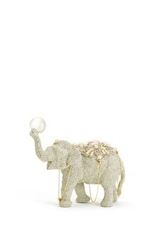 72539 - ER.VG Eliot Raffit.Vintage GlamourGrande Elephant Christmas Ornament