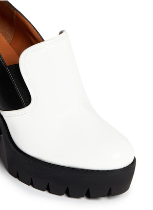 Detail View - Click To Enlarge - Marc by Marc Jacobs - Colourblock chunky platform slip-ons