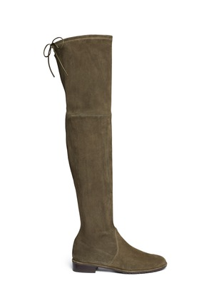 Main View - Click To Enlarge - Stuart Weitzman - 'Lowland' suede boots