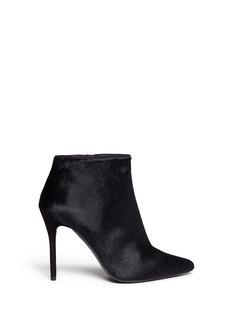 STUART WEITZMAN'Hi Times' calf hair ankle boots