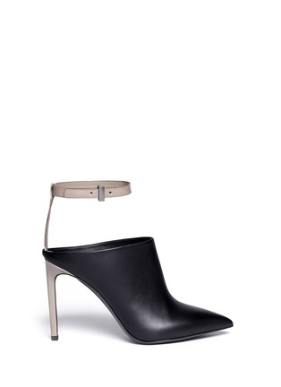 Main View - Click To Enlarge - Vince - 'Armon' ankle strap leather booties
