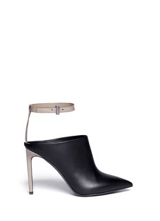 VINCE 'Armon' ankle strap leather booties
