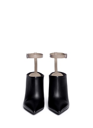 Figure View - Click To Enlarge - Vince - 'Armon' ankle strap leather booties