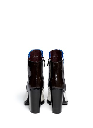 Back View - Click To Enlarge - Opening Ceremony - Shearling pony hair leather boots