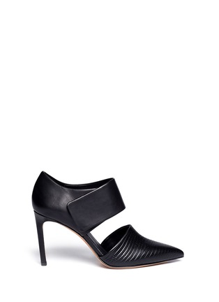 Main View - Click To Enlarge - Vince - 'Carpi' cutout leather booties