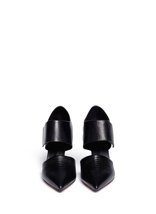 Figure View - Click To Enlarge - Vince - 'Carpi' cutout leather booties