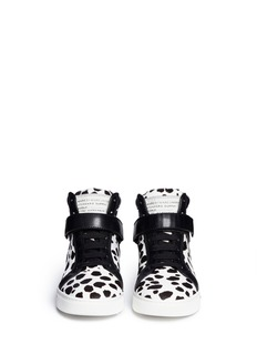 MARC BY MARC JACOBS'Cute Kicks' Spot calf hair leather sneakers