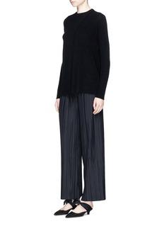 The Row'Pala' plissé pleated wide leg pants