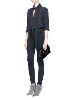 J Brand'Carolina' high rise skinny jeans