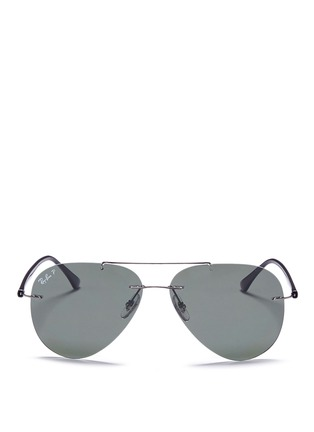 Main View - Click To Enlarge - Ray-Ban - 'Classic Aviator' metal sunglasses