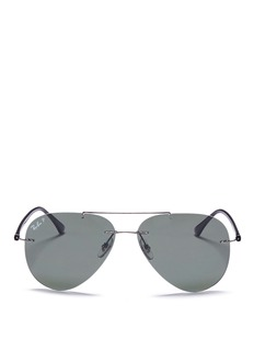 Ray-Ban 'Classic Aviator' metal sunglasses