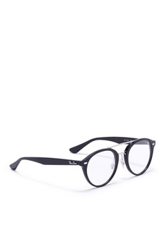 Ray-Ban 'RX5354F' round acetate optical glasses