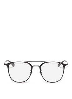 Ray Ban Accessories 'RB6377F' square metal optical glasses
