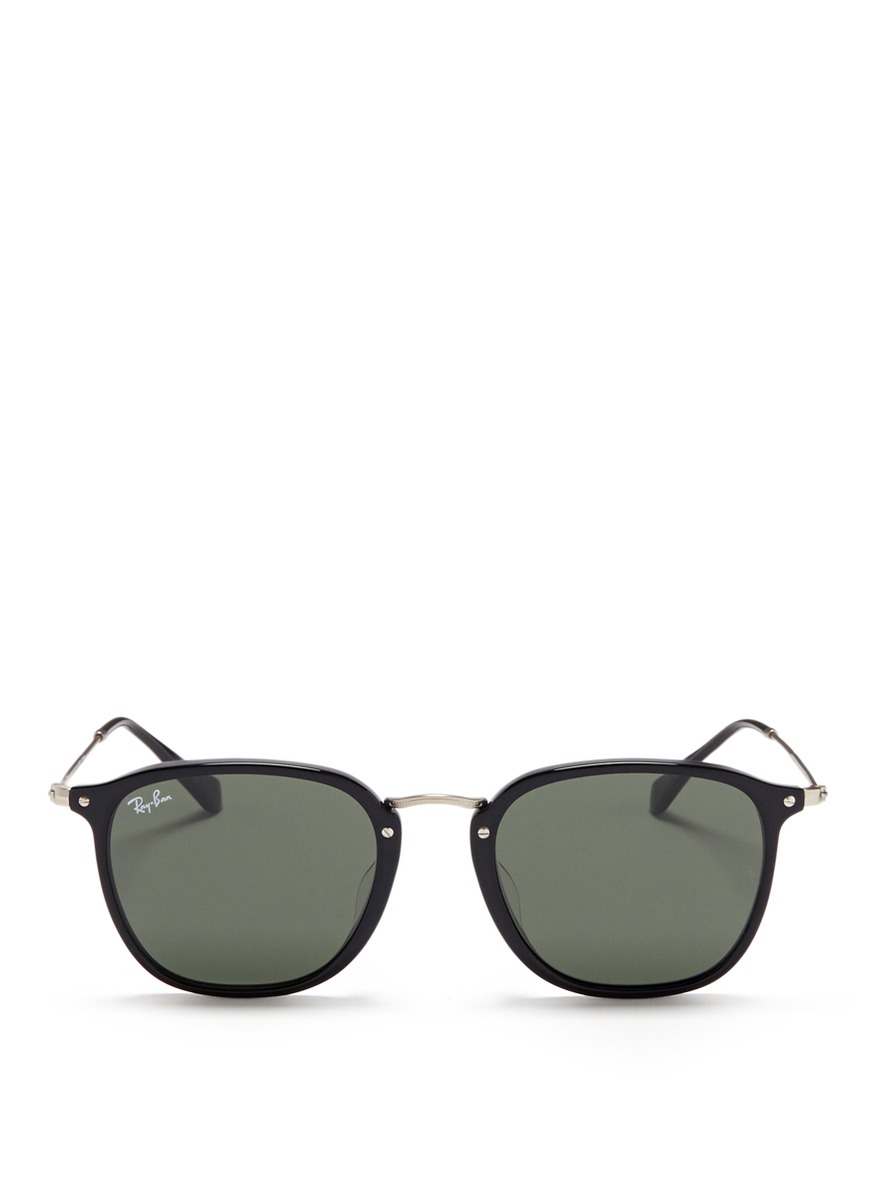 RB2448NF flat square acetate sunglasses by Ray-Ban