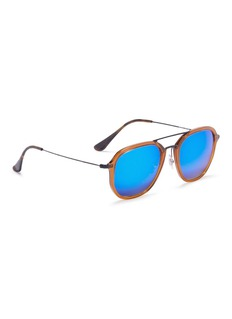 Ray-Ban RB4273' square mirror sunglasses