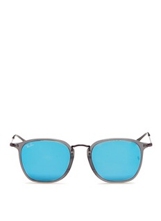 Ray-Ban'RB2448NF' flat square acetate sunglasses