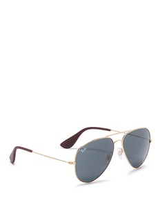 Ray-Ban 'RB3558' metal aviator sunglasses