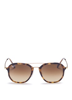 Ray-Ban RB4273' tortoiseshell acetate square sunglasses