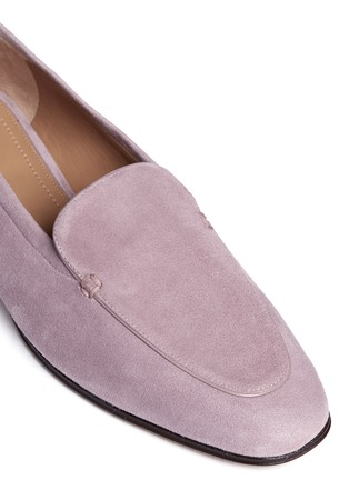 Detail View - Click To Enlarge - The Row - 'Adam' suede loafers