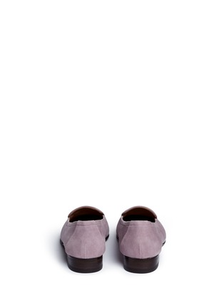 Back View - Click To Enlarge - The Row - 'Adam' suede loafers