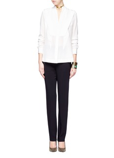 GIVENCHY Straight-leg crepe pants