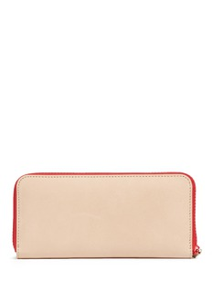 alice + olivia Lip patch leather continental wallet