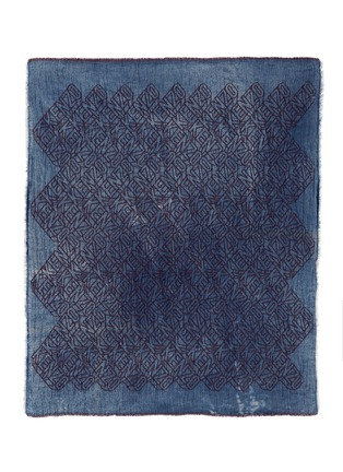 Main View - Click To Enlarge - KENZO - 'Flying Kenzo' logo denim effect scarf