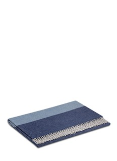 Frette Balze cashmere-wool throw