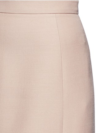 Detail View - Click To Enlarge - Valentino - Wool-silk Crepe Couture skirt