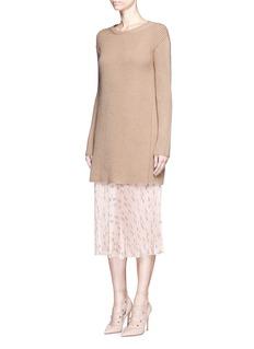 Valentino'Russian Ballet' print pleat skirt