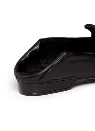 Robert Clergerie-'Fani' suede vamp lambskin leather loafers