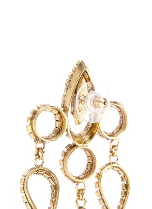 Erickson Beamon - 'Princess' Swarovski crystal chandelier drop earrings