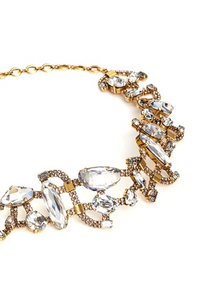 Detail View - Click To Enlarge - Erickson Beamon - 'River Song' Swarovski crystal choker necklace