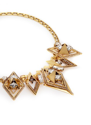 Detail View - Click To Enlarge - Erickson Beamon - 'Geometry One' Swarovski crystal statement necklace
