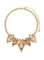'Geometry One' Swarovski crystal statement necklace