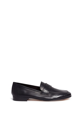 Main View - Click To Enlarge - Mansur Gavriel - Calfskin leather loafers
