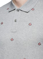 Logo embroidery polo shirt