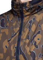 'Capbreton' camouflage print windbreaker jacket