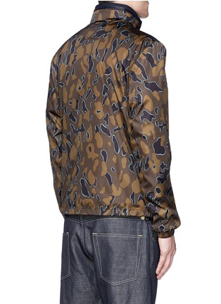 Back View - Click To Enlarge - Moncler - 'Capbreton' camouflage print windbreaker jacket