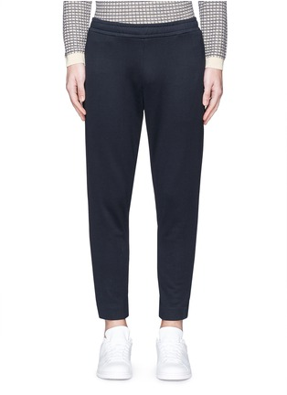 Main View - Click To Enlarge - Moncler - Cotton French terry jogging pants