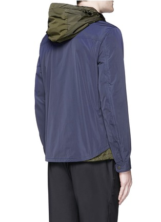Back View - Click To Enlarge - Moncler - 'Karim' double layer jacket