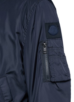 Detail View - Click To Enlarge - Moncler - 'Timothe' MA-1 bomber jacket