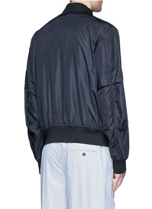 Back View - Click To Enlarge - Moncler - 'Timothe' MA-1 bomber jacket