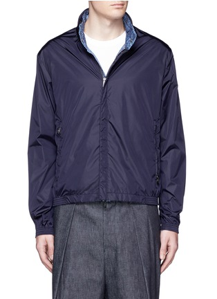 Detail View - Click To Enlarge - Moncler - 'Tristan' reversible hood jacket
