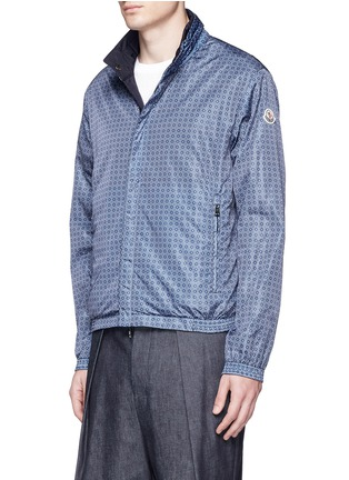 Front View - Click To Enlarge - Moncler - 'Tristan' reversible hood jacket
